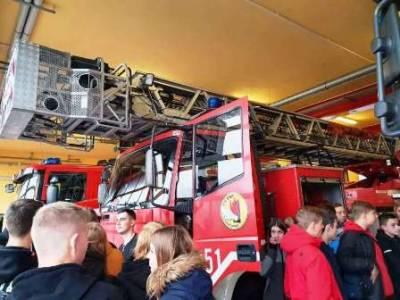Z Wizytą w Centralnej Szkole Państwowej Straży Pożarnej