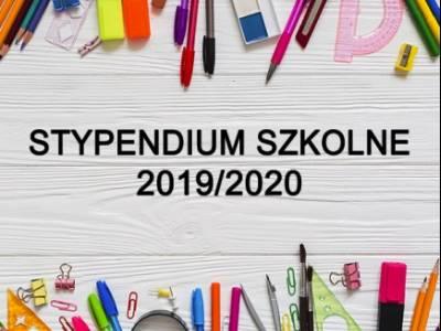 STYPENDIUM SZKOLNE!!!