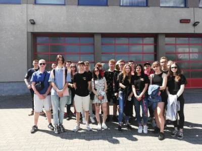 Wizyta w CSPSP w Częstochowie